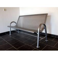 Plechová lavice Karolína