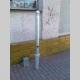 Trubkový chodníkový sloupek 60 s koulí- vyjímatelný